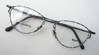 Bijou Cateye Brille Antiklook Metall Damen Metall Tiefgezogene Glasform Size M