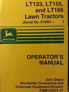 Details about John Deere LT133 LT155 LT166 Lawn Mower Tractor Owners on john deere f911 wiring diagram, john deere f925 wiring diagram, john deere 145 wiring-diagram, john deere z225 wiring-diagram, john deere 325 wiring-diagram, john deere x324 wiring diagram, john deere 345 wiring-diagram, john deere 133 wiring-diagram, john deere gt245 wiring diagram, john deere gx335 wiring diagram, john deere 4430 wiring-diagram, john deere lx280 wiring diagram, john deere lx279 wiring diagram, john deere la115 wiring diagram, john deere la140 wiring diagram, john deere la125 wiring diagram, john deere ignition wiring diagram, john deere la120 wiring diagram, john deere mower wiring diagram, john deere 1020 wiring-diagram,
