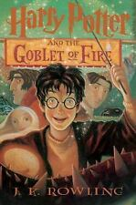 Harry Potter and the Goblet of Fire 4 J K Rowling 2000 Hardcover 1st Edition