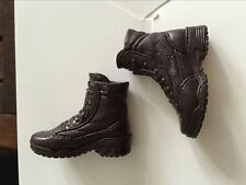 Custom Hot Toys 1/6 Resident Evil 4 Leon S. Kennedy Shoes brown Scale NEW Boots