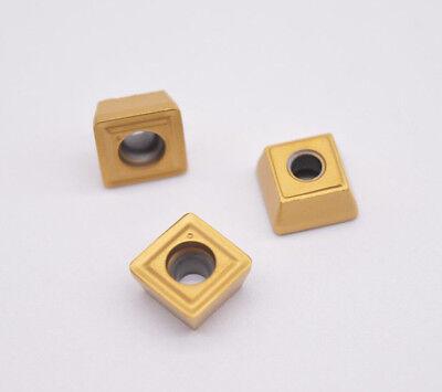 10pcs SPMG 060204 DG TT8020 CNC alloy carbide insert in U drill bits