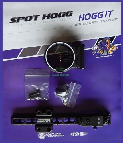 HOGG IT 5-PIN 2017 MODEL  SIGHT 029 .029 3.019 RIGHT HAND SPOT HOGG LARGE GUARD