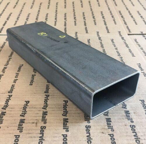 "2 X 4 Steel Square Rectangular Tubing 1//8/"" Wall Bracing Support 12/"" Long Welding"