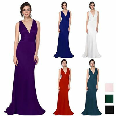 Womens Hot Sexy Long Maxi Evening Bridesmaid Party Dress Gifts Mothers Day 09008
