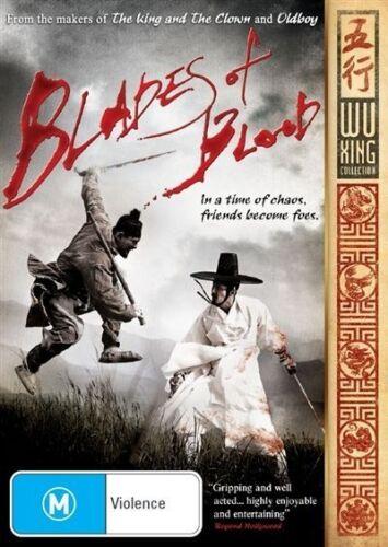 1 of 1 - Blades Of Blood (Dvd) Martial Arts, Action, Drama Jung-min Hwang, Seung-won Cha