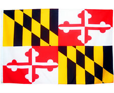 Fahne Maryland Querformat 90 x 150 cm U.S.A. Hiss Flagge Bundesstaat USA