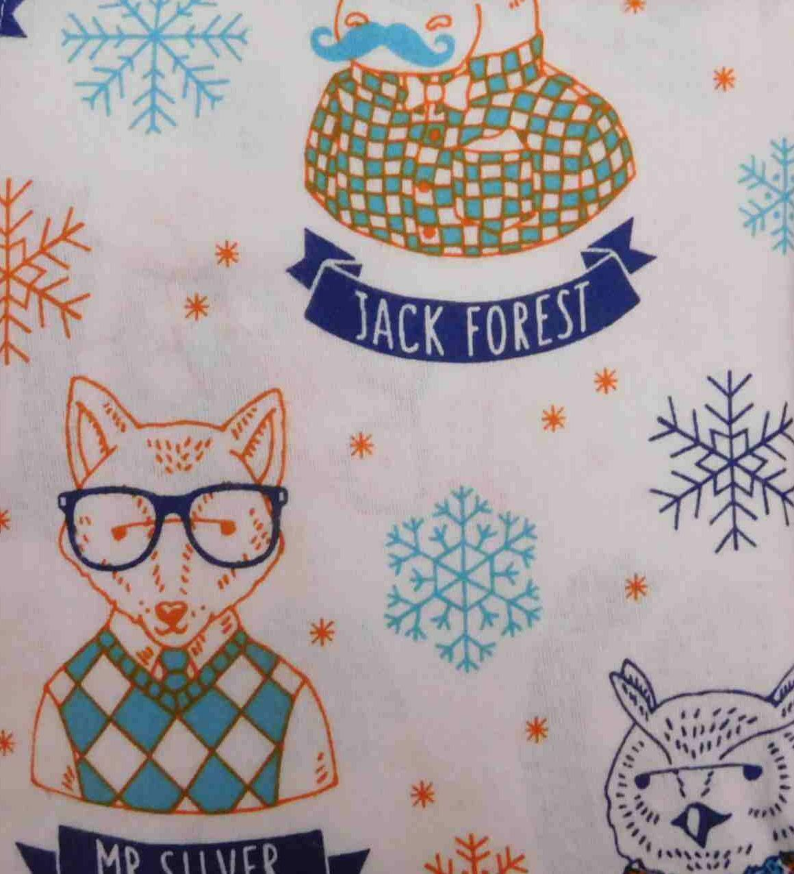 Pillowfort Flannel Sheet Set Hipster Animals Twin Bed Size Sheets Bedding