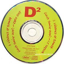 DURAN DURAN CD Violence Of Summer 2 USA PROMO 2 Track Radio Edit  UNPLAYED