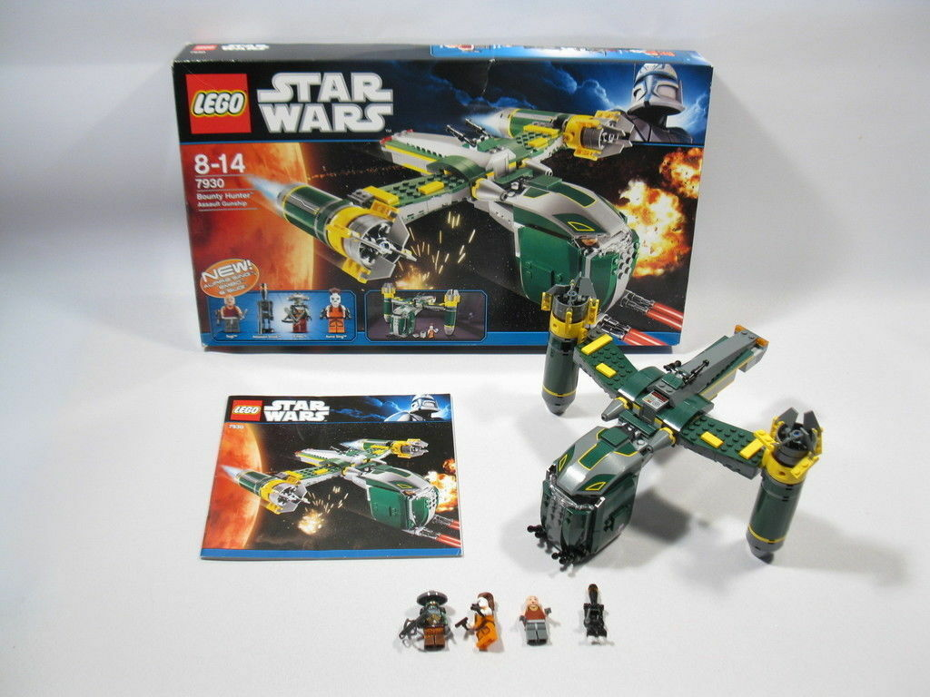 Lego Star Wars 7930  Bounty Hunter Assault Gunship   mit BA und OVP  DB24