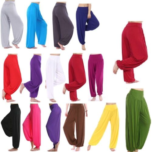 Sienna Hareem Pants in Jersey Wine various colours available in store