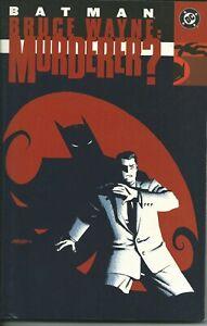 Ravissement Batman Bruce Wayne: Murderer ? Tpb - Dc 2002 ( Comics Usa ) à Distribuer Partout Dans Le Monde