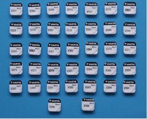 Varta-1-Pile-VARTA-1-55v-pour-montre-Oxyde-d-039-argent-V301-a-V399