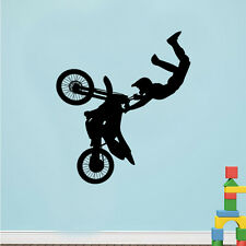 Tribal Bike Motorcycle Wall Stickers Sports Decor Decal Mural Room Paper Art