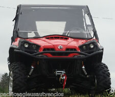 STANDARD Vented Tinted LEXAN WINDSHIELD + Std Clamps ~ Can-Am COMMANDER UTV NEW