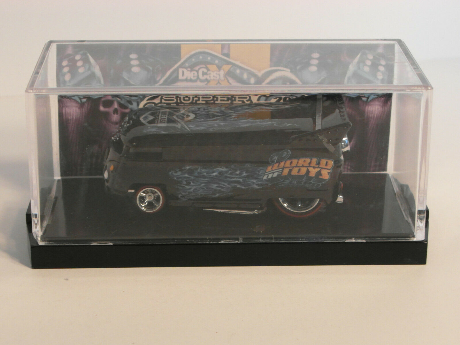 2014 DiecastX Hall of Fame Ed. Las Vegas ToyCar VW DRAG BUS  by POPE DESIGNS 1 5