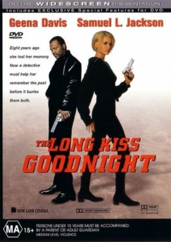 1 of 1 - The Long Kiss Goodnight (DVD, 2002) Region 4 Action Adventure DVD Rated MA - VGC