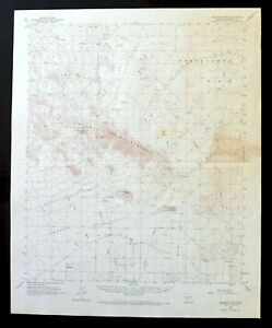 Details about Belmont Mountains Arizona Vintage USGS Topo Map 1962 west of  White Tank Mts