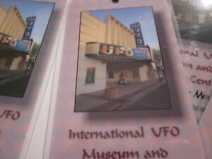 Detalles Acerca De Marcador 1 Roswell Casi Como Nuevo Internacional Ufo Museum Research Center Recuerdo 39 Mostrar Titulo Original