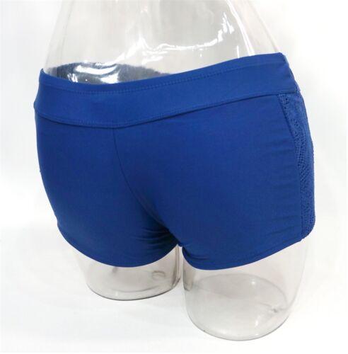 SO Navy Crochet Lace Cover-Up Swim Shorts Bottom Swimwear Juniors/' Ladies XS,L