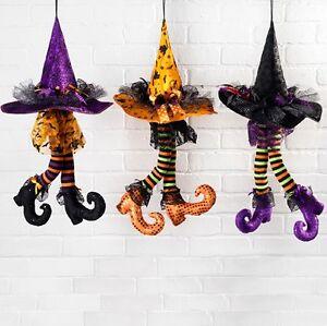 image is loading raz imports 23 034 halloween hanging witch hat