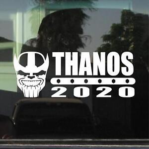 Thanos 2020 Election Vinyl Decal Bumper Sticker Ebay