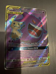Pokemon-TCG-Gengar-Mimikyu-GX-Full-Art-Card-Team-Up-164-181-Booster-Fresh
