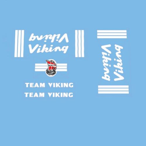 Viking Team Bicycle Frame Decals Transfers  n.60