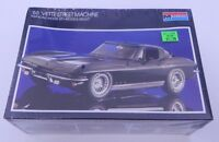 Monogram '65 Vette Street Machine 1/24 Model Kit, Box Dated 1986, Sealed R13235