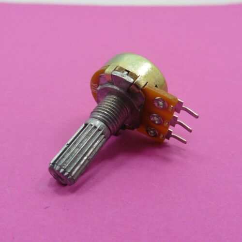Mono Potentiometer 250K Ohm Linear Logarithmic Pot 6mm Shaft Volume Sound Mixer