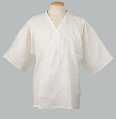 Japanese Women/'s Traditional Kimono under wear Han Juban with Lace White JAPAN