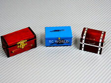 RC 1/10 Scale Accessories WOOD CHEST LUGGAGE SET Storage Box