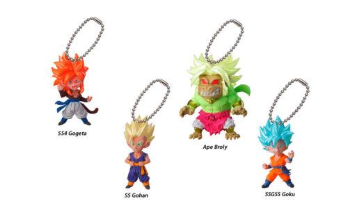 Dragon Ball Z Super Swing Mascot PVC Keychain SD Figure Saiyan ~ SS Gohan @23467