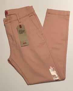 LEVIS XX CHINO Standard Taper Fit Pants Pink 29x30