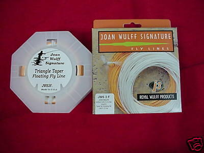 Royal Wulff  Fly Line Joan Wulff Signature Taper  5 NEW