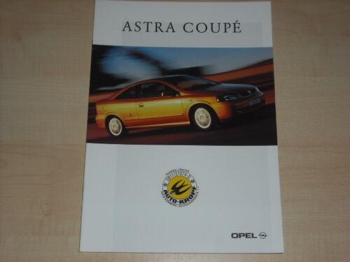 Opel Astra Coupe Prospekt 01//2000 65944