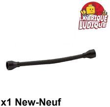 73590c02a LEGO Parts~ 1 Flexible 8.5L w Tabbed Ends BLACK Hose