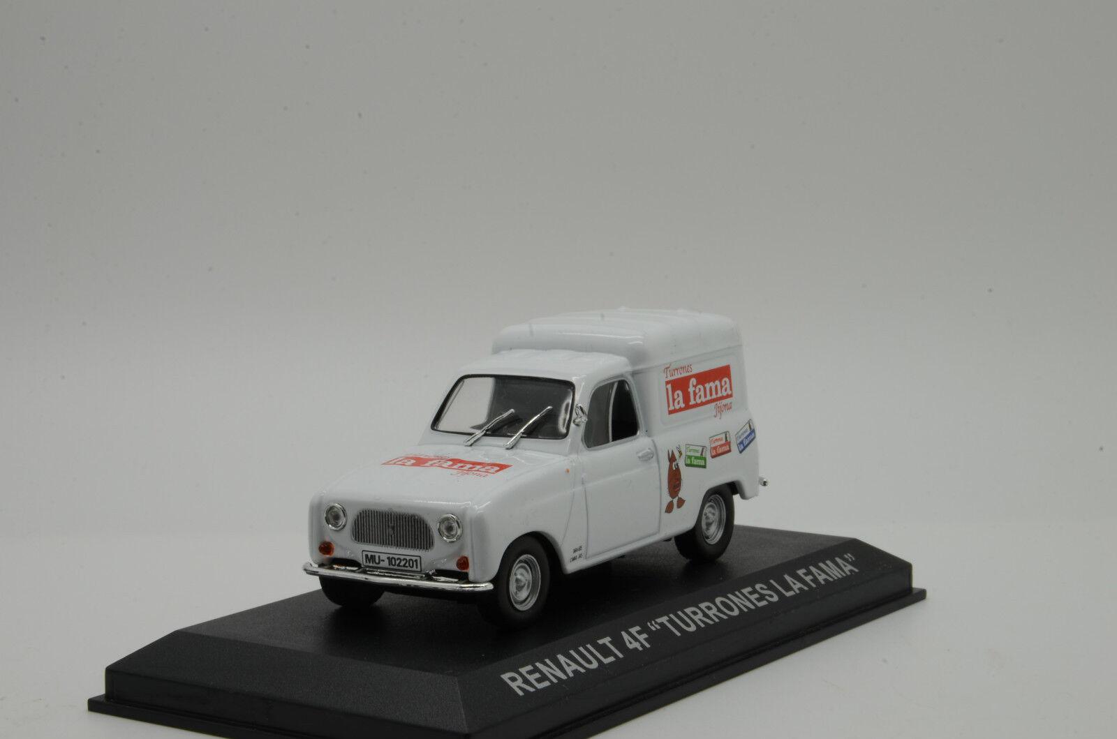 RARE    Renault 4F   Turrones La Fama   Altaya 1 43
