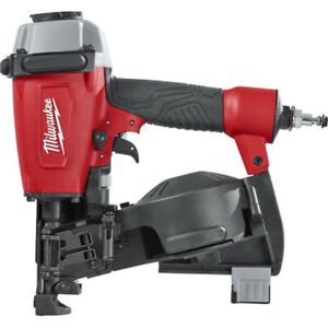 Milwaukee-1-3-4-in-Pneumatic-Coil-Roofing-Nailer-7220-80-Reconditioned