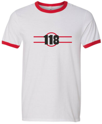 118 T SHIRT FANCY DRESS RETRO GEEK ALL SIZES,