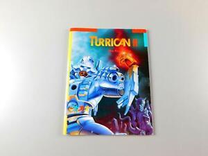 1991-Commodore-64-Amiga-Atari-ST-TURRICAN-II-by-Rainbow-Arts-Manual