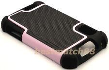for Motorola atrix 4g mb860 rugged case triple layer soft hard pink black