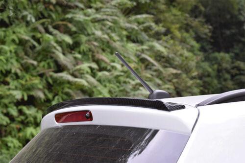 4.9ft//1.5M Universal Carbon Fiber Car Rear Roof Trunk Spoiler Wing Lip Sticker