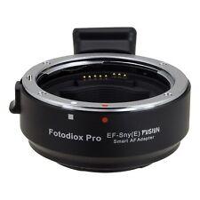 Fotodiox Obiettivo Adattatore Canon EOS per Sony Alpha NEX funzione automatizzata