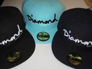 f0b2ce15c67 New Era Diamond Supply Co Brilliant Edition Fitted hats Diamond Blue ...