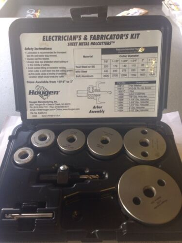 Hougen 14005-14,000 Series Electrician/'s /& Fabricator/'s Kit
