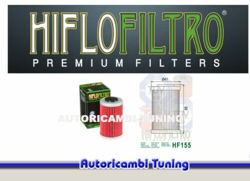 525 cc FILTRO OLIO HIFLO HF157 MOTO Beta RR Enduro 4T 2005-2009 anni