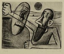 Nuria Quevedo - Don Quichote? - Radierung - 1985