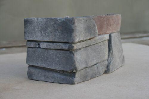 Verblender Steinriemchen Slanec Basalt Kaminverkleidung