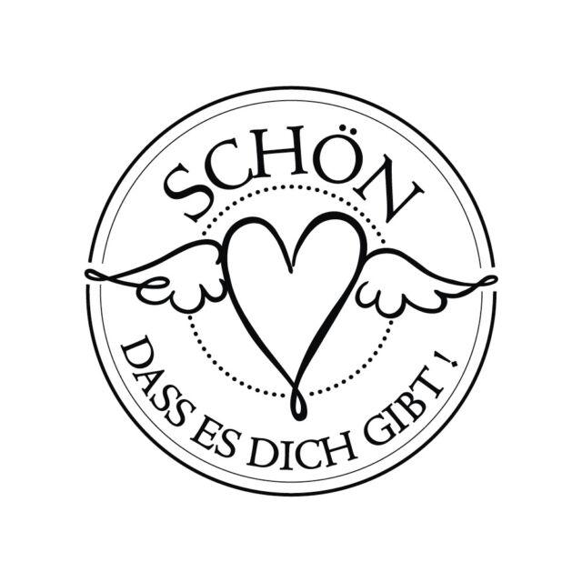 "3cm ø Butterer Stempel /""Handarbeit/"""