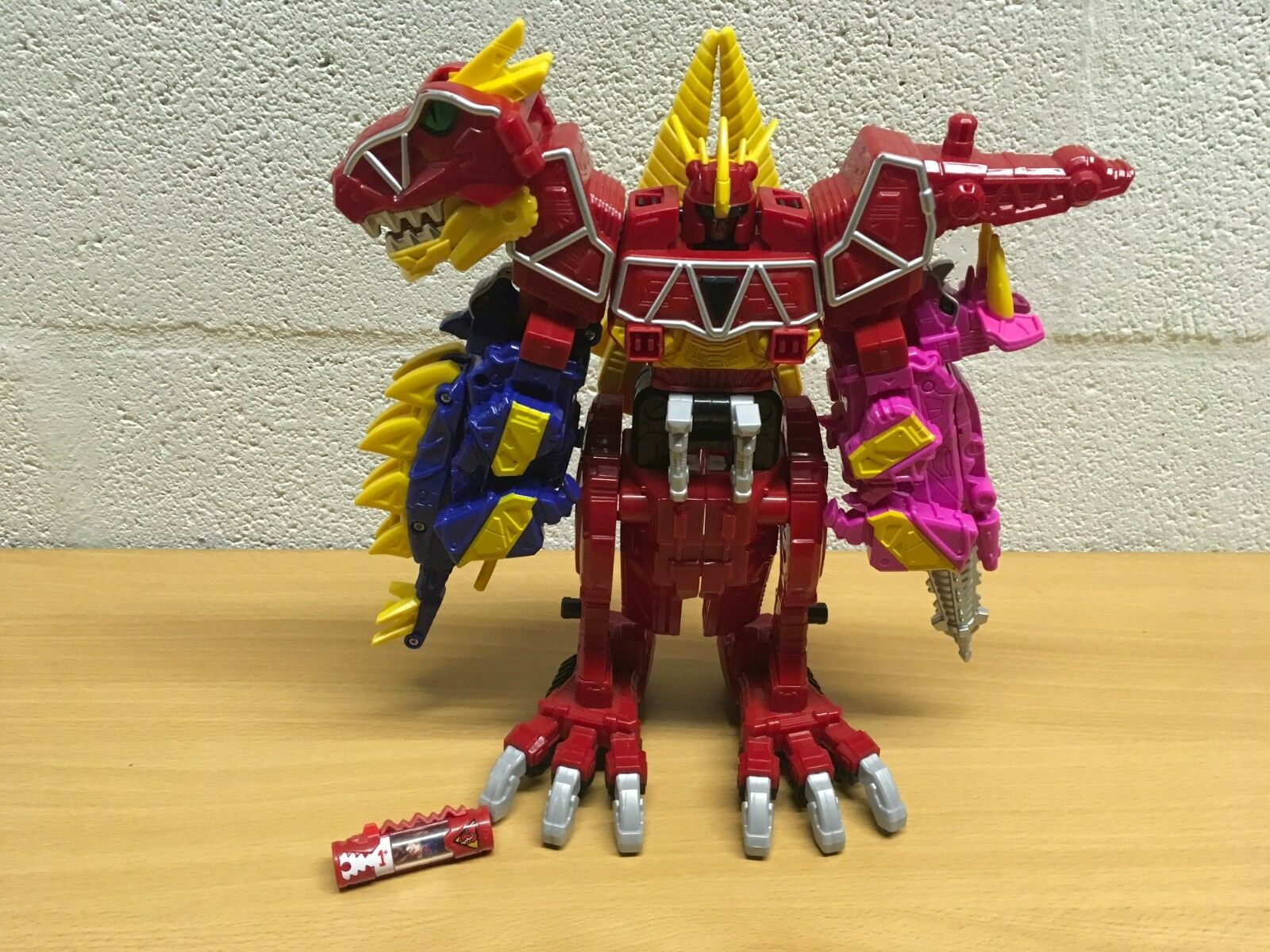 n ° 1 en línea Power Rangers Dino Cochego Deluxe Deluxe Deluxe DX Megazord T-Rex Completa Y Cochegador  precios razonables